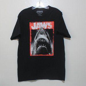 Jaws Medium Universal Studios Black Graphic Shirt